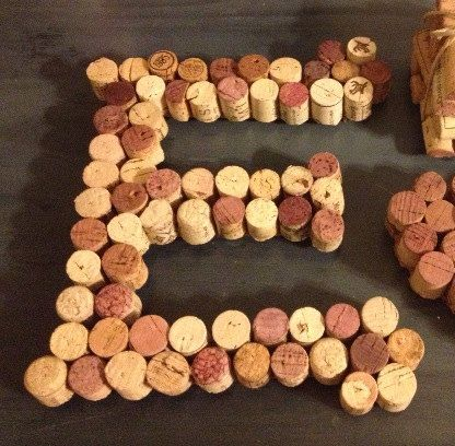 Corks in an E